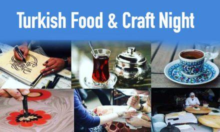 1st Turkish Food & Craft Night