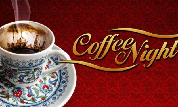 Coffee Night: Ashure- Noah's Pudding