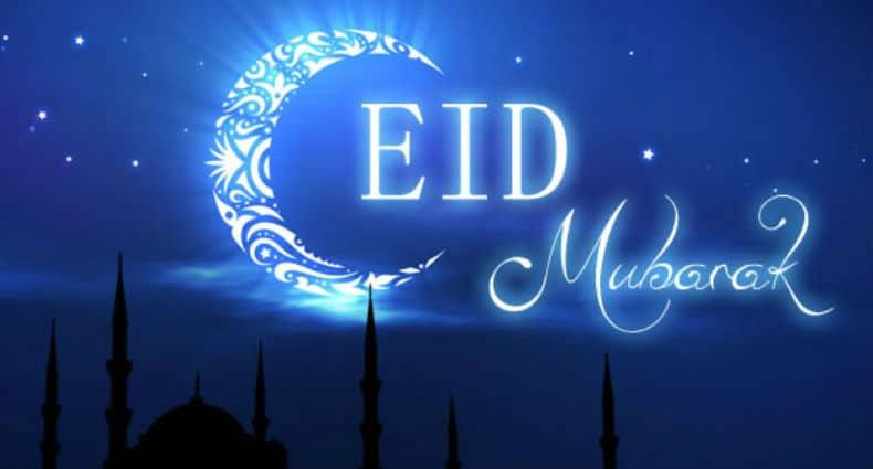 Eid Mubarak..