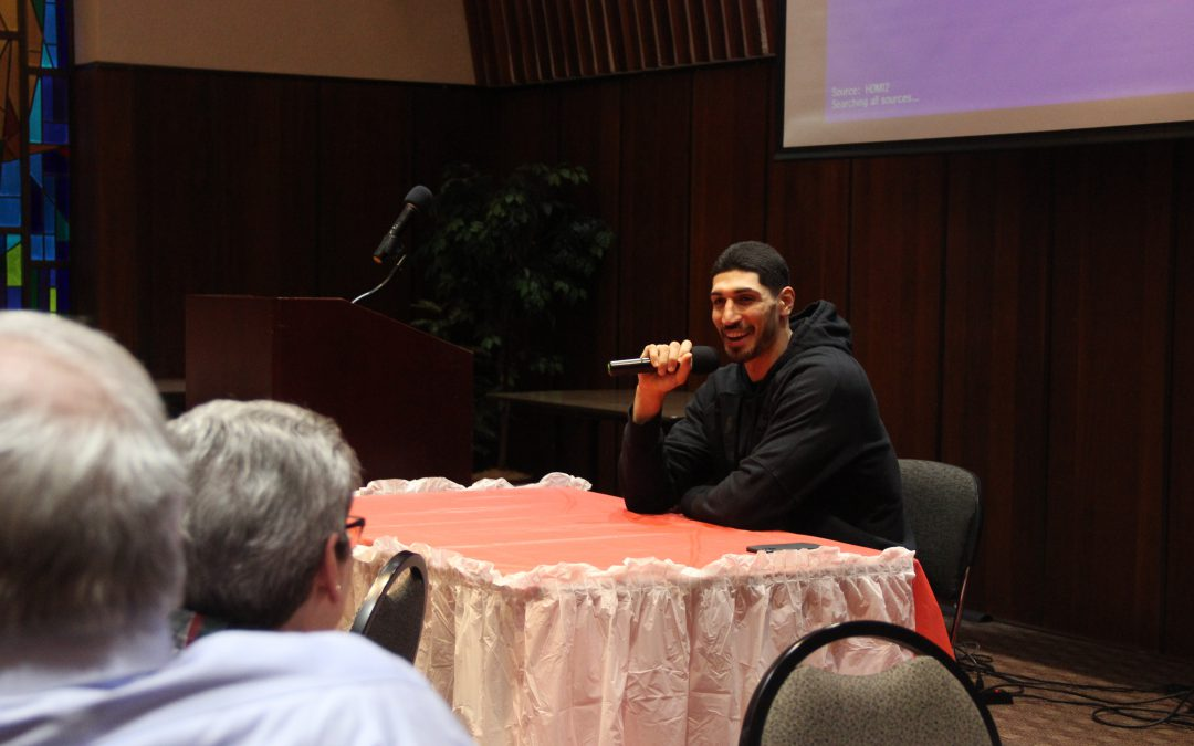 Refugee Relief Campaign in association with ICWA and guest superstar Enes Kanter